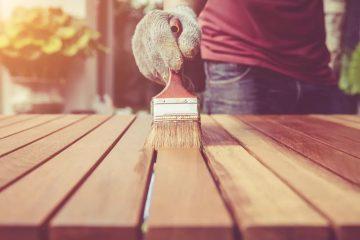 peinture sur bois neuf
