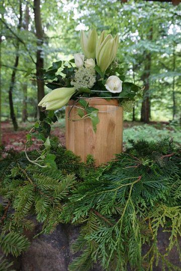 Focus sur une urne funéraire biodégradables